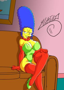 Sexy Marge Simpson by SWAVE18