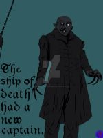 The Ship of Death Had a New Captain by TheArtofNotKnowing
