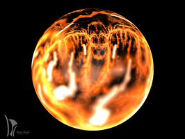 Molten Planet by YewTree
