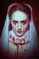 Blood on Lace, Queen Mary I of England by Ashitaro