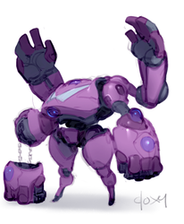 Gembots: Sugilite by mldoxy