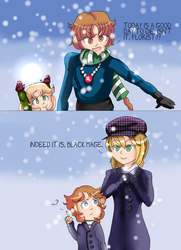 'It's Snow-fair?' :PI: by magedusted