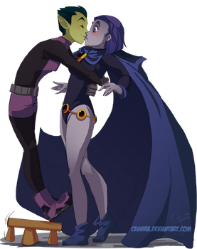 A Kiss for New Years! by Ceshira