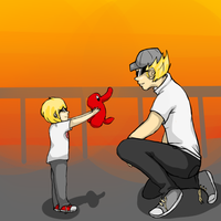 Dave and Bro by BurichizuFtw