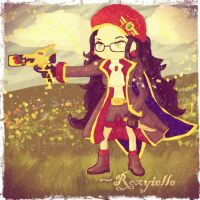 Maplestory: Roxyielle the Corsair (vintage) by Roxyielle