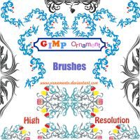 gimp ornament brushes by ornamento