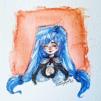 Blue Doll by BranMuffinBri