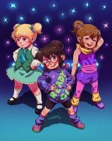 The Chipettes are back! (color) by DFer32