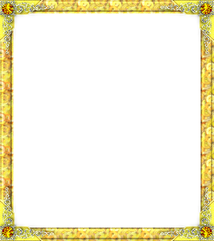 thekarinaz 1 0 yellow with jewels by thekarinaz - Yellow Picture Frames