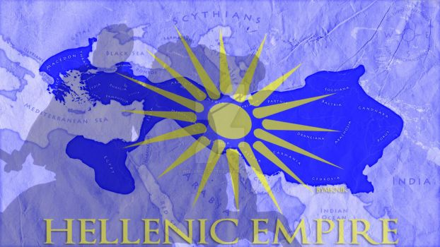 The Hellenic Empire by Hellenicfighter