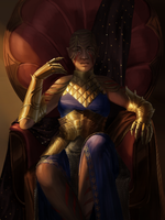 throne by adelruna