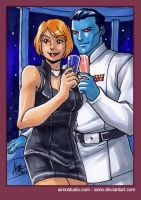 PSC - Thrawn and Shepard by aimo