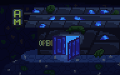 Abyss Mart by Four-Cubed