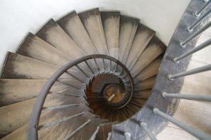 Spiral Stairs by Fuchsia-Groan