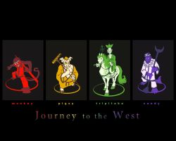 Journey to the West wallpaper by chasmosaur
