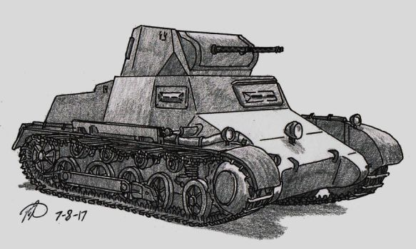 Panzer I by TimSlorsky