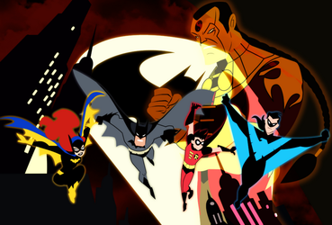 The New Batman Adventures: Batman Rise Of Sin Tzu by bat123spider