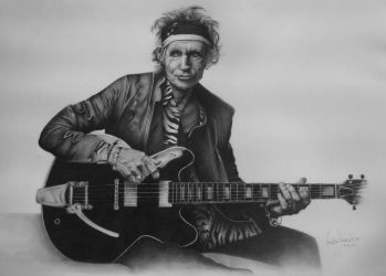 Keith Richards by Oscar0990