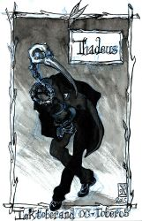 Inktober 05 - Thadeus by Arkanth