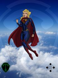 Supergirl - Girl of Steel by Stelios-Tomazos