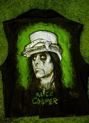 Alice Cooper jacket by Shamaanita