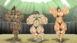 Muscle Bending Championships. by Atariboy2600