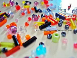 Colourful Beads by world-by-danielle