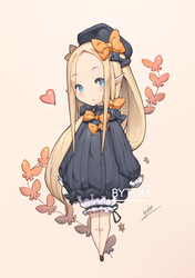 Abigail fgo [chibi] by tom23579