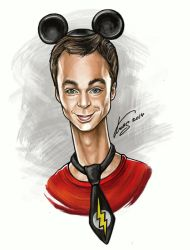 Sheldon Cooper by Krasnih