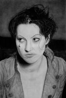 drawing of Amanda Palmer by beckenslobber