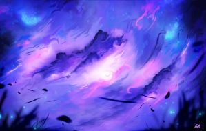 Ethereal Sky by LickMyVoidStaff