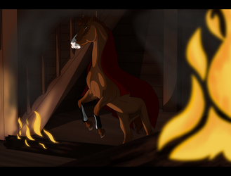 SA | Alarik | Through Fire and Flames by NorthernMyth