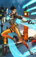 Tracer Overwatch by SaviorsSon