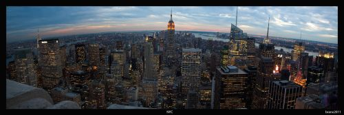 NYC Panorama by tigerjet