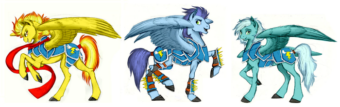 The Wonderbolts! by Rex42