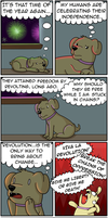A Dogs Independence by theodd1soutcomic