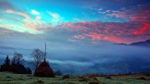Sunrise of the fog by lica20