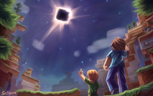 Minecraft - Eclipse Totality by Sableron