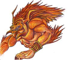 Ifrit by Jackalopette