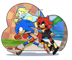 CONTEST ENTRY: Team Flash by AReluctant-Hero