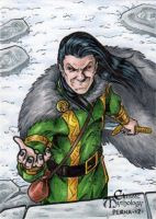 Loki Sketch Card - Tony Perna by Pernastudios