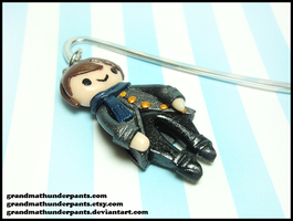 Sherlock Bookmark by GrandmaThunderpants