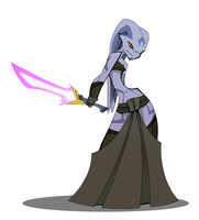 Twi'lek Sith by The-Pink-Pirate