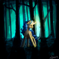 In the forest by EwaAliatrop