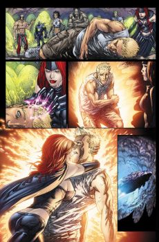 Ultimate Fantastic Four 57 p13 by BlondTheColorist