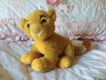 Baby Simba sitting plush by Nala1994