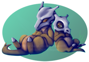 Pokemon - Cubone and Marowak