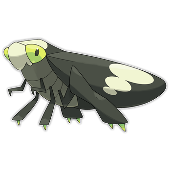 Skelcopod, High Jump Fakemon by Smiley-Fakemon