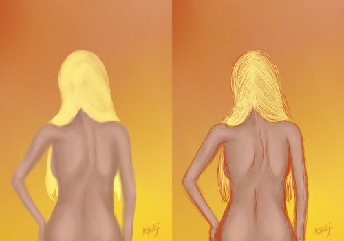 First Test with Intuos Pro Ver 2 by ArtLover57