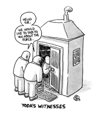 Yoda's Witnesses by izitmee